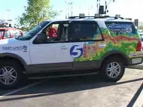 NWC & NWS Storm Chaser Car Show - Storm Chase Vehicle