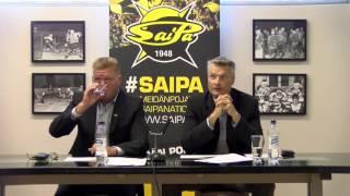 5.8.2016 SaiPan tiedotustilaisuus tilikaudesta 2015-2016