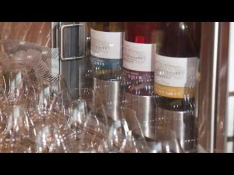 Willamette Valley Vineyards Tasting Room at Travel Salem's Travel Cafe Visitor Center