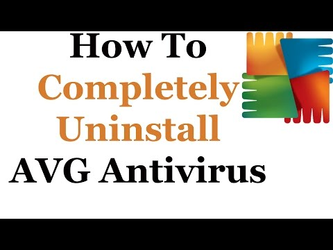 How To Uninstall AVG 2014 & 2015 From Windows 7