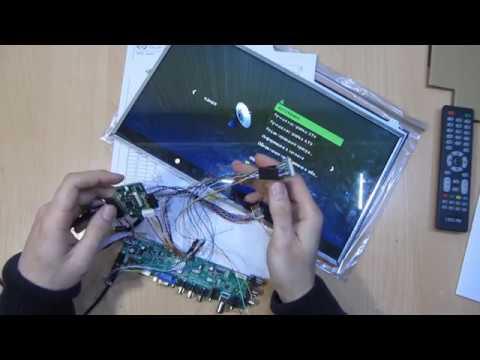 Матрица eDp Touch 40pin + Материнская плата Intel Bay Trail с LVDS выходом