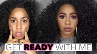 GET READY WITH ME : ROSE SMOKEY EYES