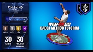 NBA 2K20 - Max Badge Method/Glitch Tutorial After Patch - XB1/PS4