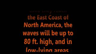 Four Natural Disasters Coming To The United States: 80ft High Tsunami & 8.2Mw Earthquake