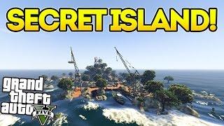 THE SECRET MILITARY ISLAND!! GTA 5 Mods Showcase! (Raven Rock)