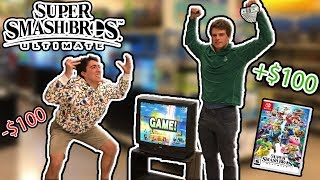 I Challenged Strangers To Super Smash Bros Ultimate For $100