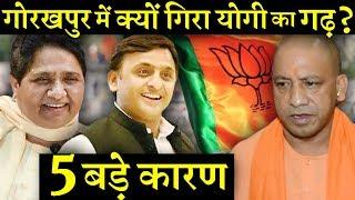 बीजेपी को अपने ही गढ़ गोरखपुर में हार का सामना क्यों करना पड़ा ?  INDIA NEWS VIRAL