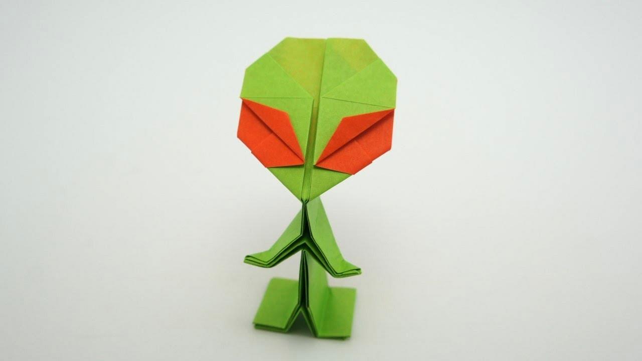 origami alien riki saito youtube