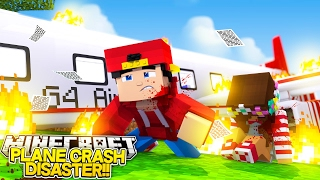 Minecraft Adventure - VACATION PLAN CRASH DISASTER!!