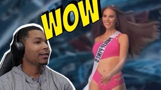 Catriona Gray's iconic slow motion | REACTION