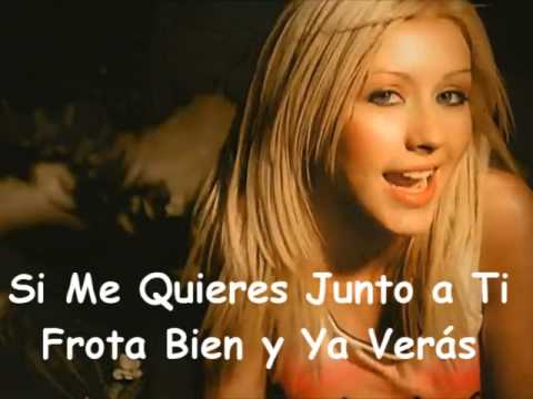 Christina Aguilera - Genio Atrapado (Genie In A Bottle)