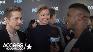 Matt Czuchry & Emily VanCamp Talk Research For Fox Medical Drama 'The Resident' | Access Hollywood