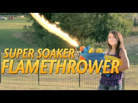 The Super Soaker Flamethrower!