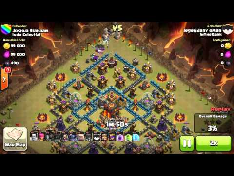 Clash Of Clans - Inthedark Vs Indo Celestial video