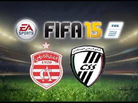 FIFA 15 Gameplay Club Africain vs Club Sportive Sfaxien