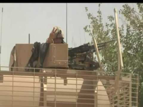 8km convoy resupplies troops in Helmand, Afghanistan