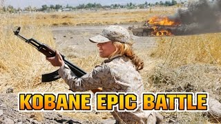 KOBANE- KURDS MOST EPIC BATTLE - Bella Ciao