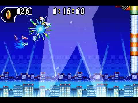 Sonic Advance 2: Ice Paradice Act 2 in 0:40:20