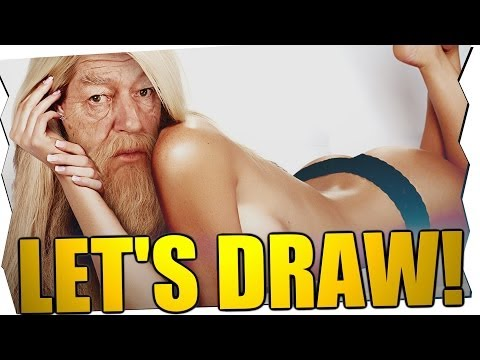 Sexy Dumbledore! - Let's Draw (2. Advent) video