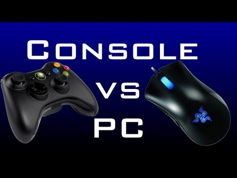PC Gaming vs Console (Xbox 360/PS3) Gaming: Which is Better? *BO2 Nuclear Gameplay*