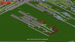OpenTTD - an example of large - All In One Station