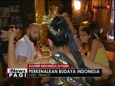 Ternyata Ada Rumah Makan Khas Indonesia di Paris, Perancis - iNews Pagi 25/07