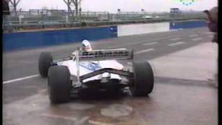 Ayrton Senna - First Test Drive Of The Williams - Renault FW16 F1 Car,1994.