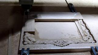 Станок с ЧПУ сервопривод CNC servo engraving on wood