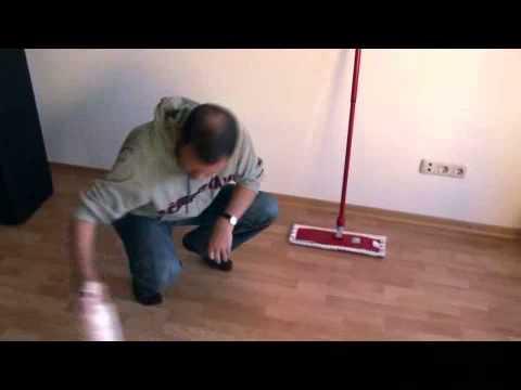 laminatboden beschichten youtube. Black Bedroom Furniture Sets. Home Design Ideas