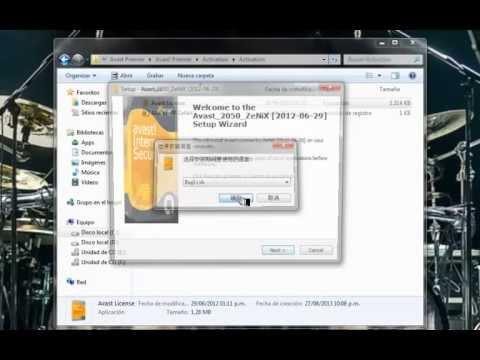 Avast Premier 8 con licencia hasta el 2050