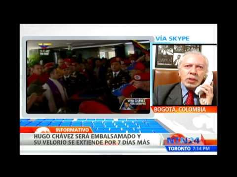 Antropólogo habla sobre el proceso de embalsamamiento de Chávez