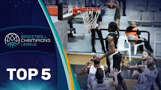 Top 5 Plays - Tuesday - Gameday 11 - Basketball Champions League 2017-18