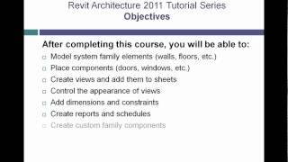 Revit Architecture 2011