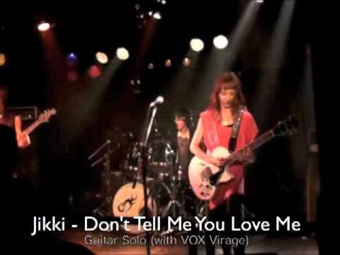 "Jikki Guitar Solo LIVE ""Don't Tell Me You Love Me"" - Night Ranger"