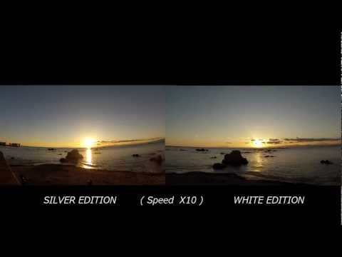 GoPro HERO3 TEST SILVER vs WHITE 2