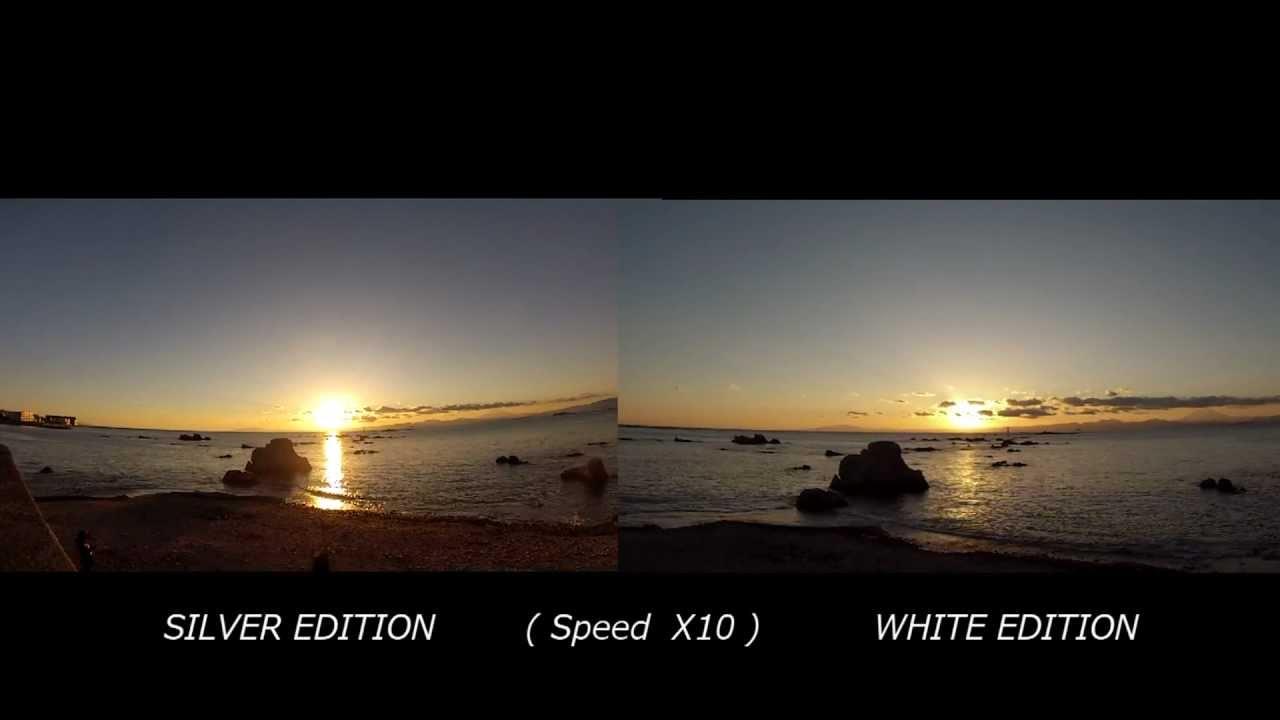 GoPro HERO3 TEST SILVER vs