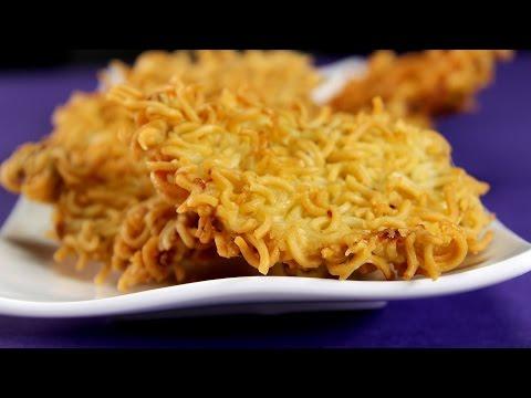 Noodle Crusted Chicken Bites | Sanjeev Kapoor Khazana
