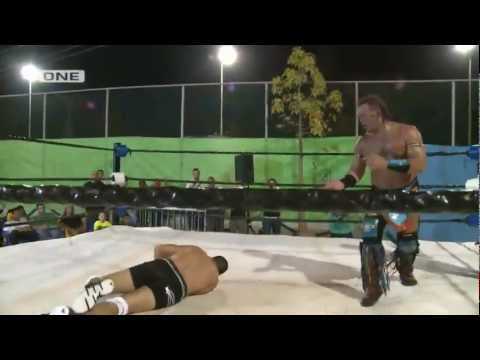 IPWA title match: Rabbi Swissa vs. WWE Legend Tatanka