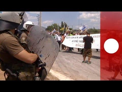 Un embryon de télévision publique grecque provoque la colère des ex-salariés de l'ERT