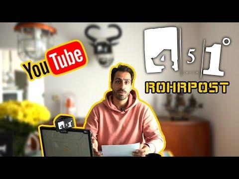SPEZIAL   Reza kommentiert Kommentare   451 Grad Rohrpost