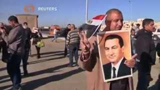 الحكم ببراءة مبارك ونجليه ورموز نظامه في محاكمة القرن