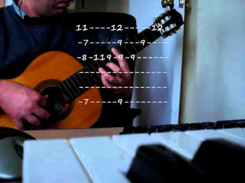 0 Band of Brothers theme   Classical Guitar (with tab)