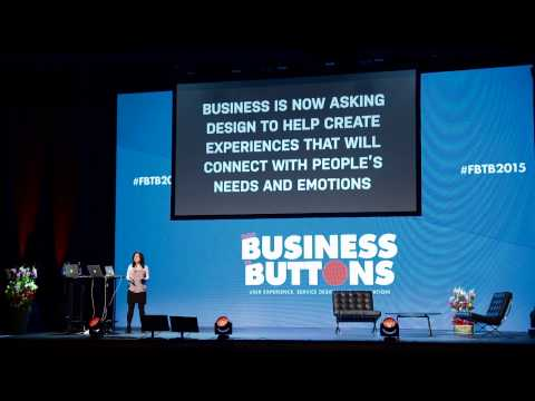 Iran Narges at From Business to Buttons 2015