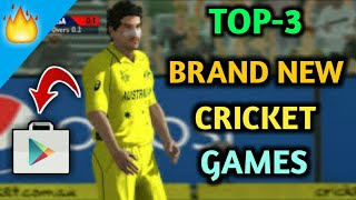 TOP-3 BRAND NEW CRICKET GAMES 2018 || BY GAMING VIDEOS ||