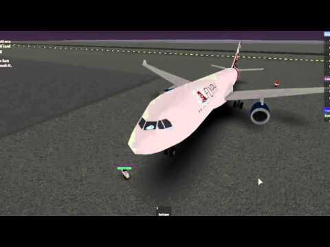 ROBLOX Airbus A330 200 Flight (UPDATED TORONTO!)
