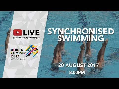 Synchronised Swimming Team Free Final   29th SEA Games 2017
