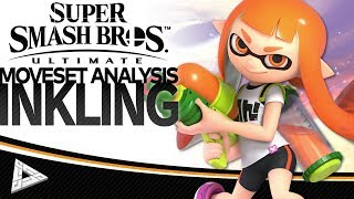 Super Smash Bros. Ultimate: Inkling Moveset Analysis