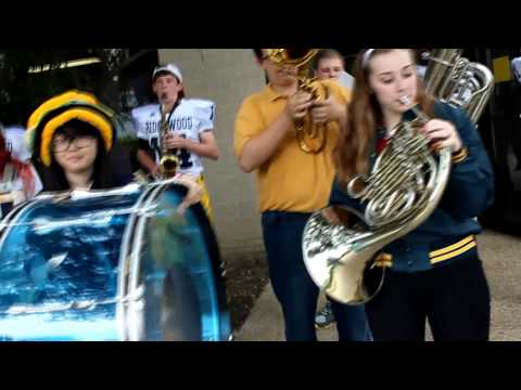 "Ridgewood Preparatory School Golden Eagles - WDSU ""Battle of the Bands"" Fight Song Competition"
