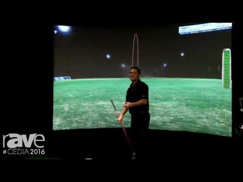 CEDIA 2016: High Definition Golf Shows Off High Definition Golf Simulator