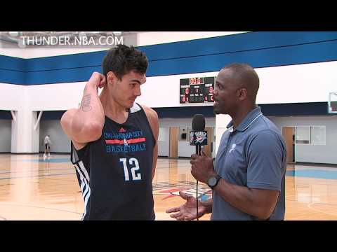 Thunder YouTube: Steven Adams interview